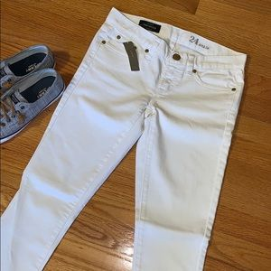 J Crew Ankle Toothpick super skinny jeans